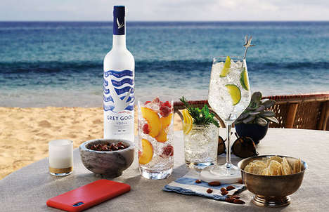 Grey Goose Riviera bottle design