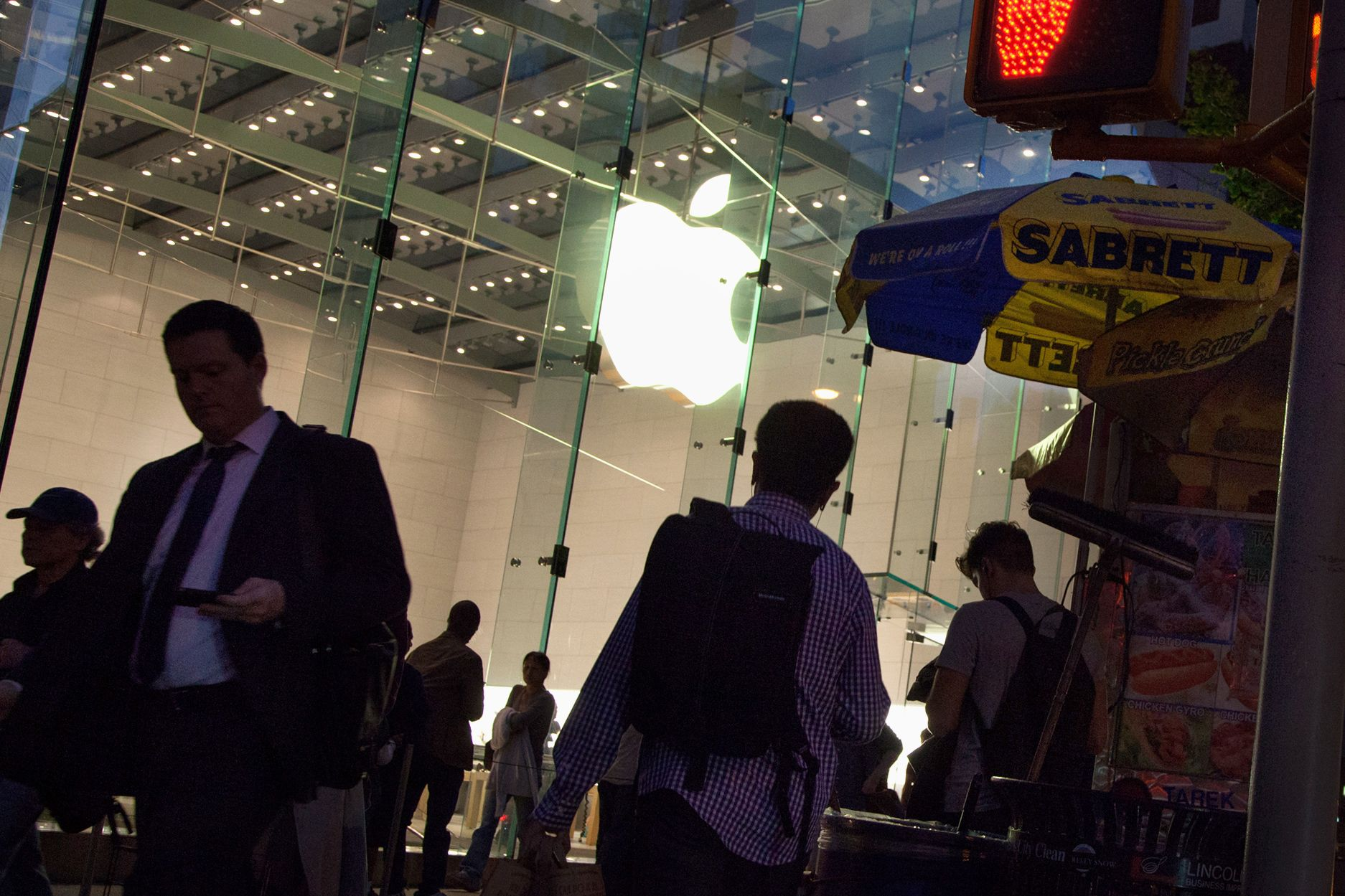 Investors who bought Apple before earnings got the call right