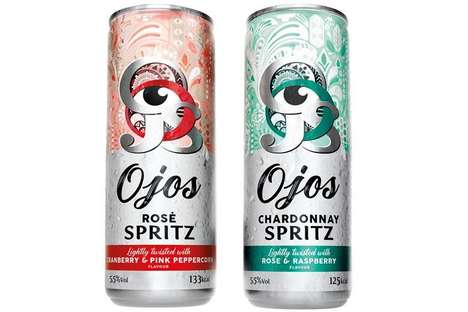 Low-Calorie Canned Wine Cocktails : O'jos Spritz