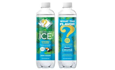 Mysterious Sweepstakes Refreshments : Sparkling Ice Mystery Flavor