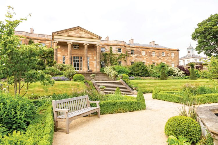 Newly restored Hillsborough Castle brims with clues to its past at the heart of Irish politics