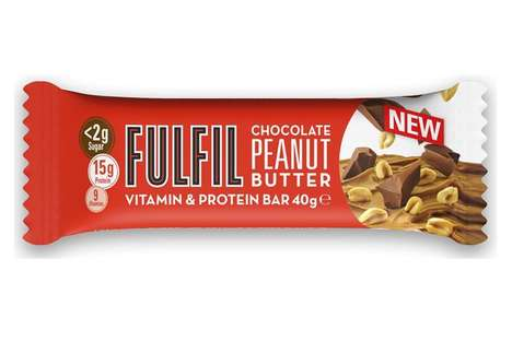 Nutrition-Focused Snack Bars : chocolate peanut butter bar