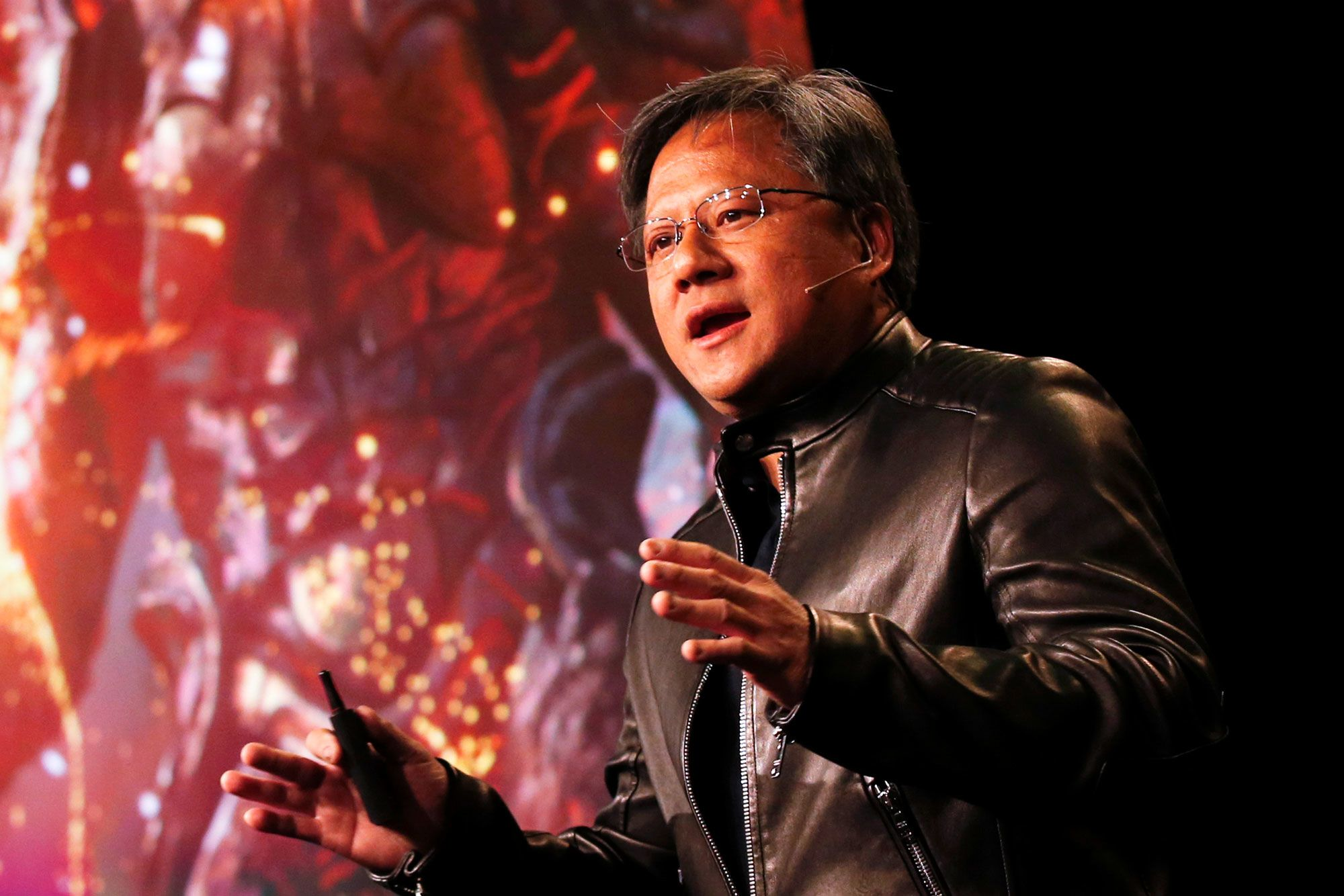 Nvidia CEO doesn't expect China to block $7B takeover of Mellanox