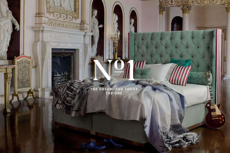 Online-Friendly Luxury Rebrands : Bed Specialist