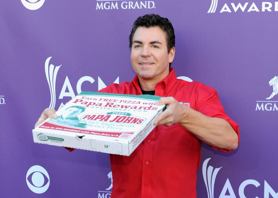 Papa John's founder John Schnatter is thinking about selling his stake