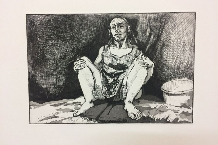 Paula Rego donates abortion etchings to raise funds for Milton Keynes Gallery