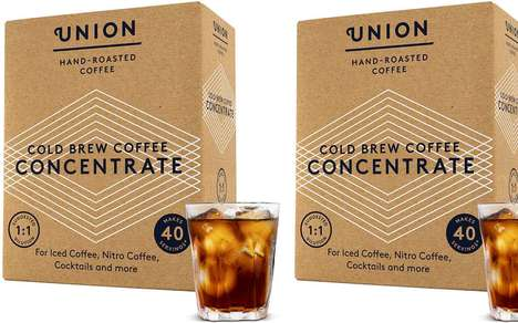Premixed Restaurant Cold Brews : Union Hand-Roasted Coffee