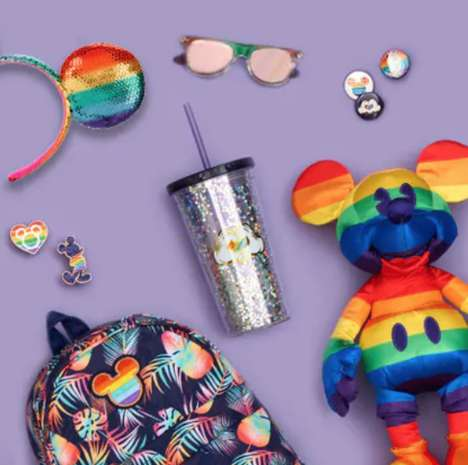 Pride-Themed Disney Collections : Disney's Rainbow Collection