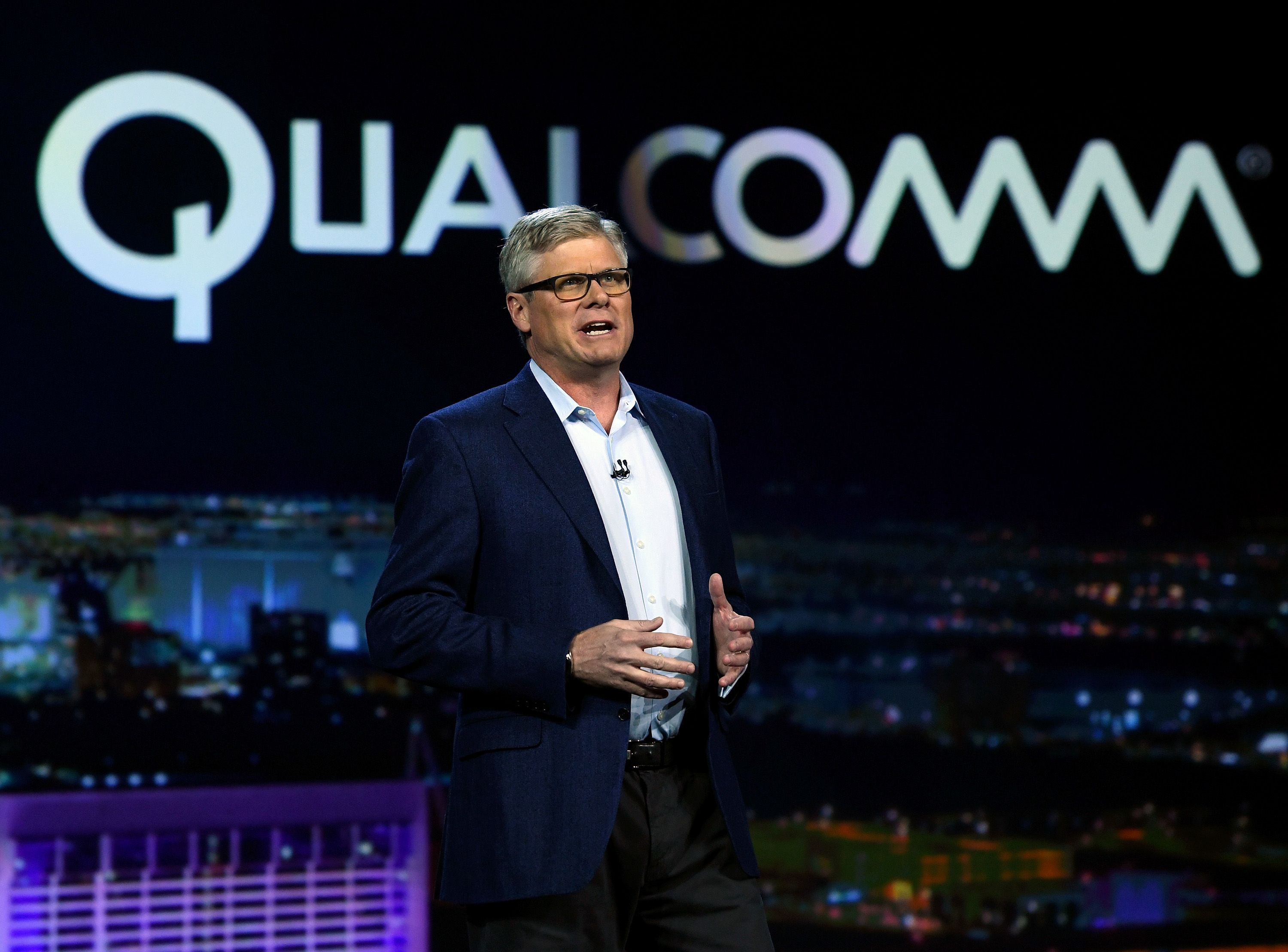 Qualcomm shares plunge on report federal judge rules it has violated antitrust law