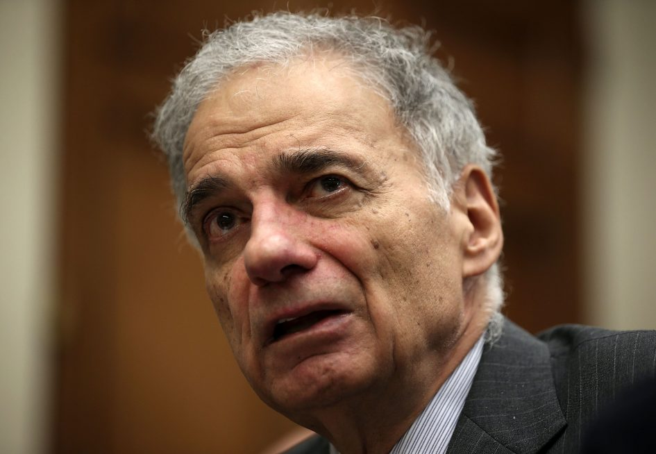 Ralph Nader, on 737 Max crashes, says FAA beholden to Boeing