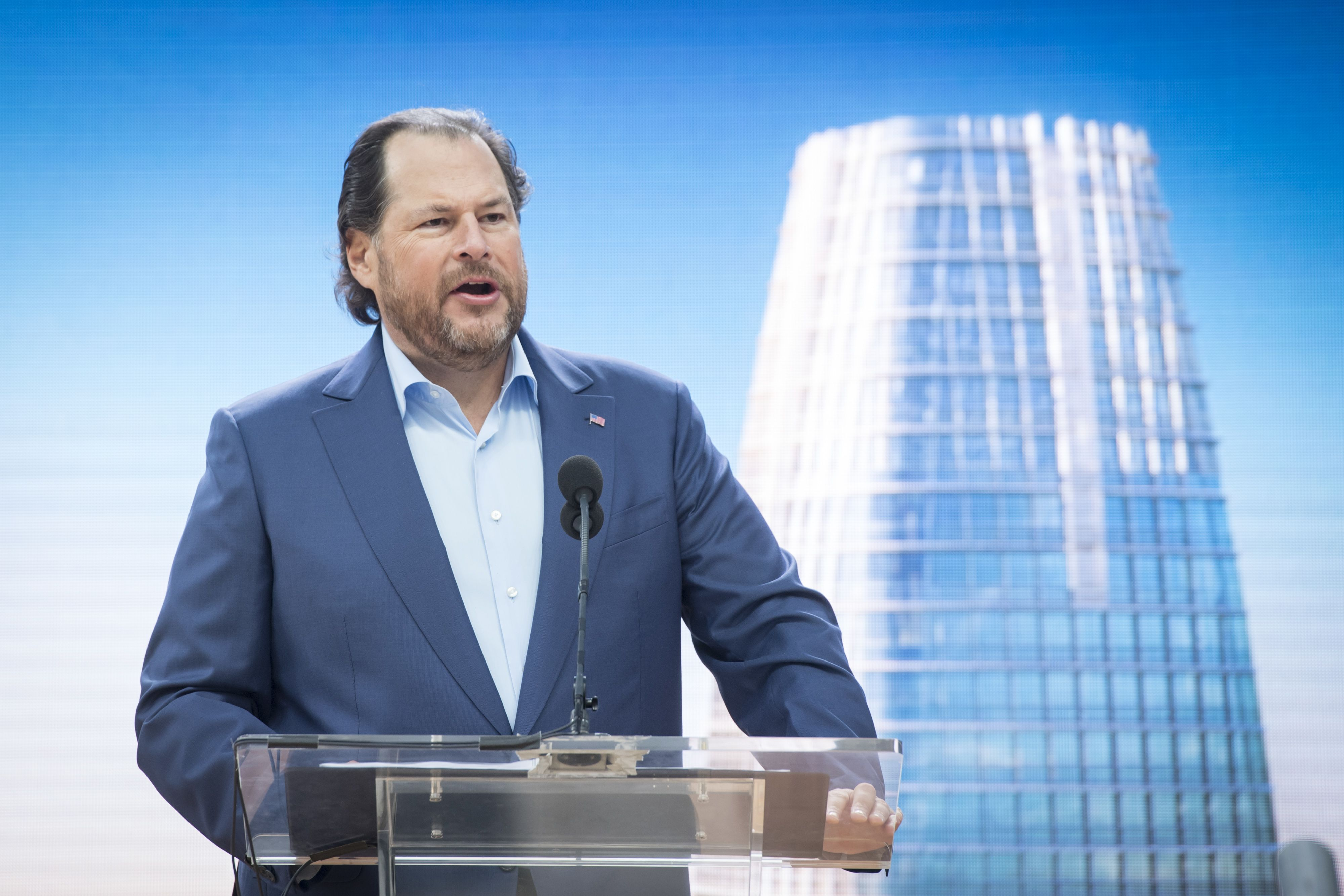 Salesforce owns a stake in Lyft worth almost $27 million