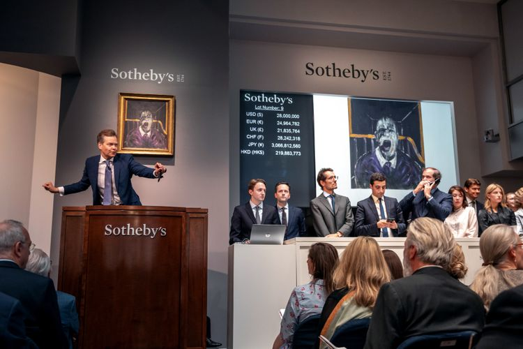 San Francisco museum's Rothko sells for $50m as Sotheby's closes bumper week of New York auctions
