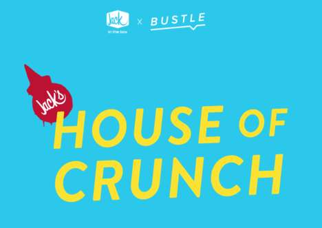 Sensory-Stimulating Restaurant Pop-Ups : House of Crunch