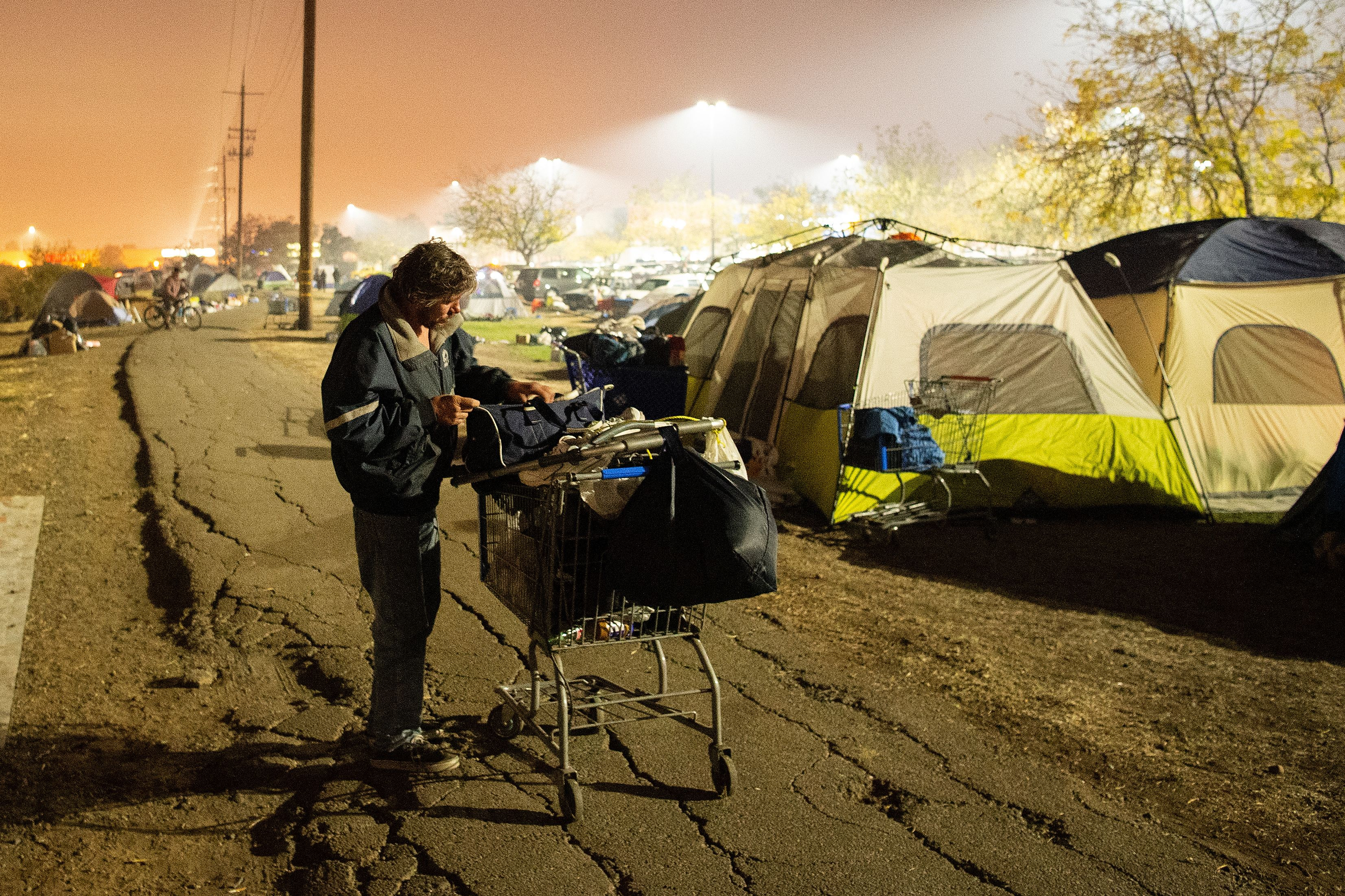 Six months after Camp Fire, survivors struggle to find temporary homes