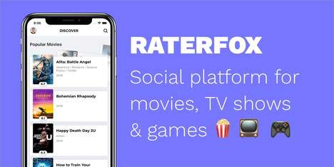 Social Content Suggestion Apps : RaterFox app