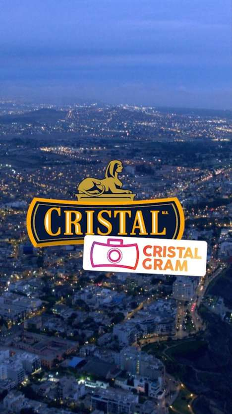 Social Media-Specific Beer Labels : CRISTALGRAM