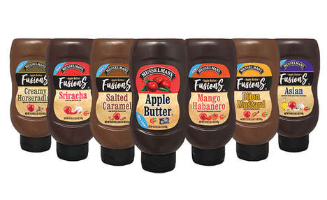 Specialty Flavor Apple Butters : Musselman's Apple Butter Fusions