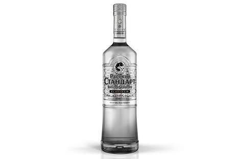 Superior Silver-Filtered Vodkas : Russian Standard Vodka Platinum