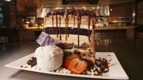 Supersized Cake-Eating Challenges : The Kitchen Sink Challenge