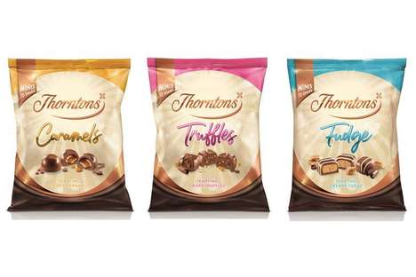 Textural Filled Chocolate Treats : Thorntons chocolates