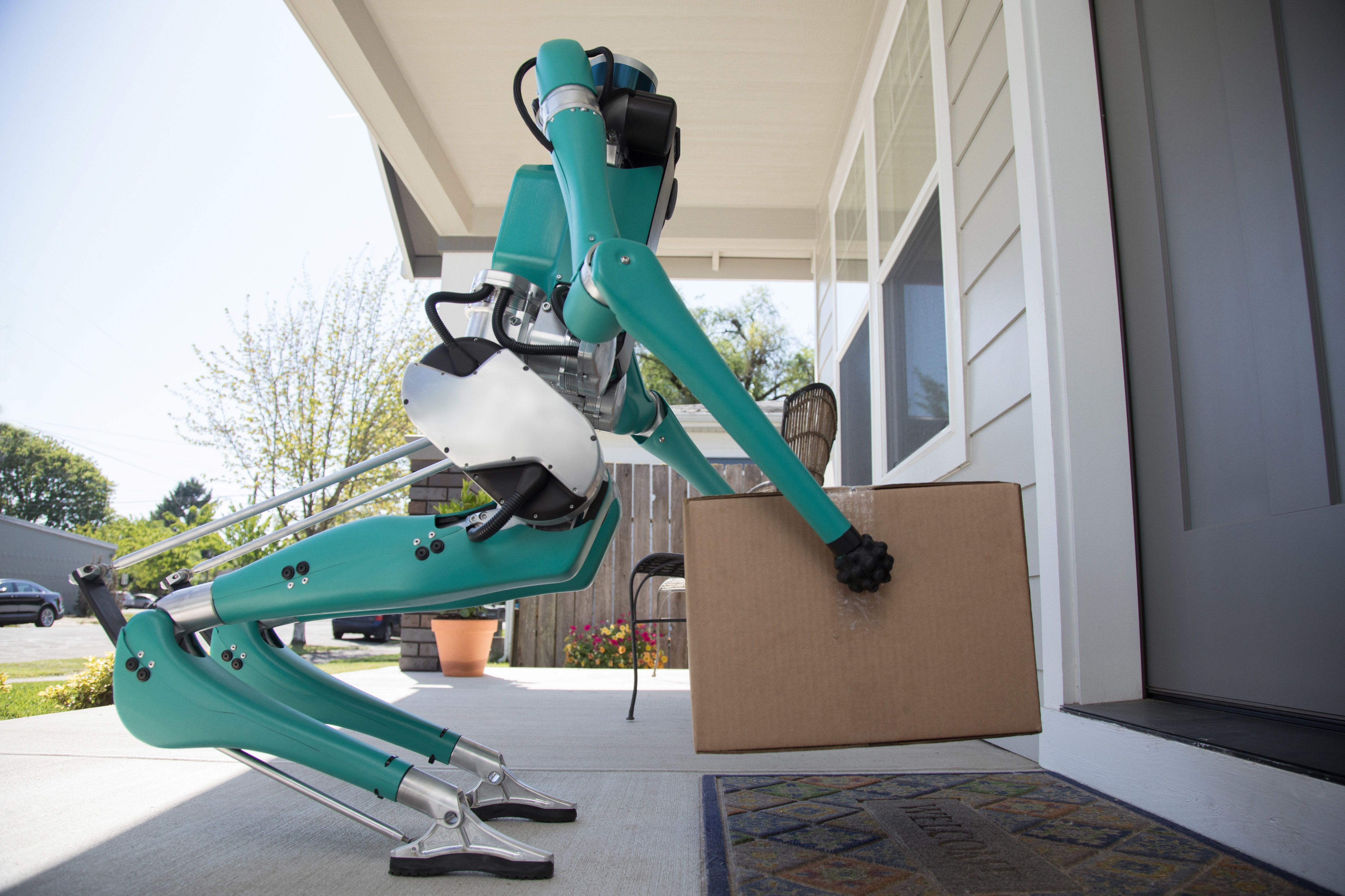 The Walking Robot That Could Soon Be Delivering Your Packages