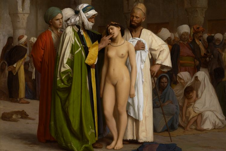US museum criticises use of Gérôme's Slave Market in German right-wing campaign