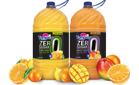 Vitamin-Rich Zero-Sugar Juices : Tampico ZERO