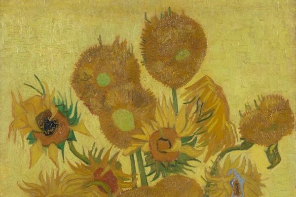 A once-in-a-lifetime look behind Van Gogh's Sunflowers