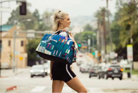 Abstract Art-Inspired Bag Collections : artistic bag