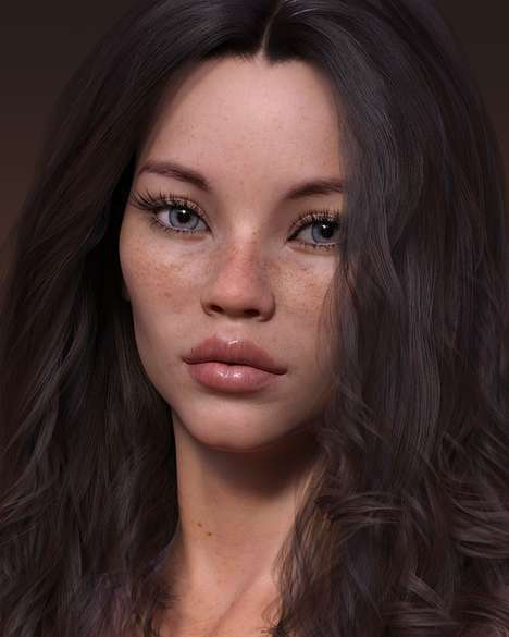 Agency-Signed Virtual Models : daisy paige