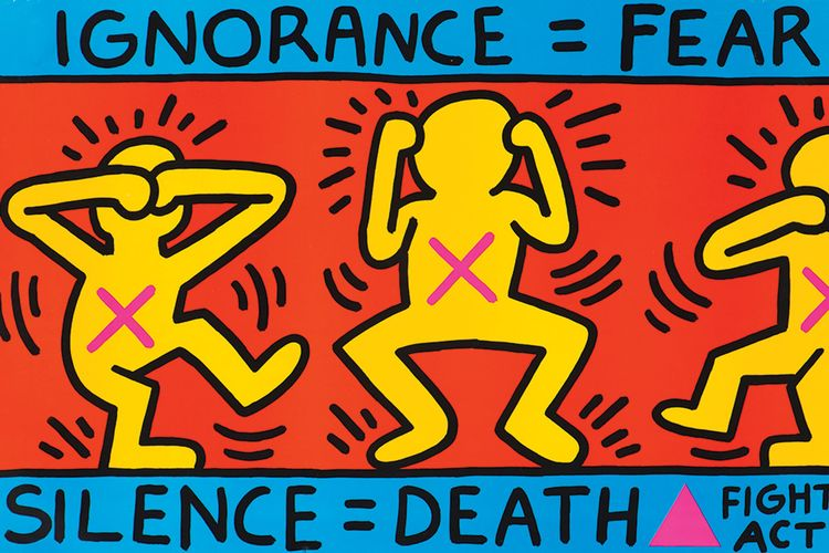 Aids, crack and Ronald Reagan: Keith Haring show heads to Liverpool