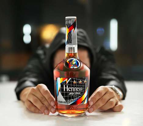 Artist-Created Cognac Bottles : Hennessy V.S Limited Edition
