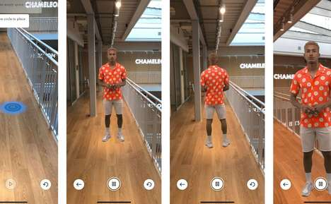 Augmented Reality Catwalks : augmented reality model