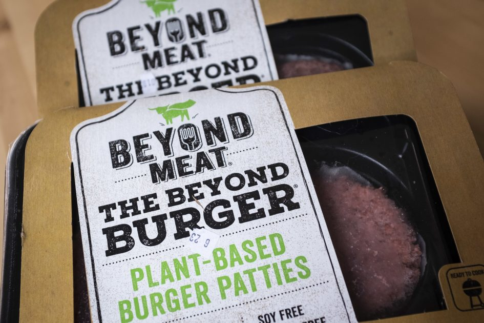 Beyond Meat stock briefly trades above $200 after soaring 18%