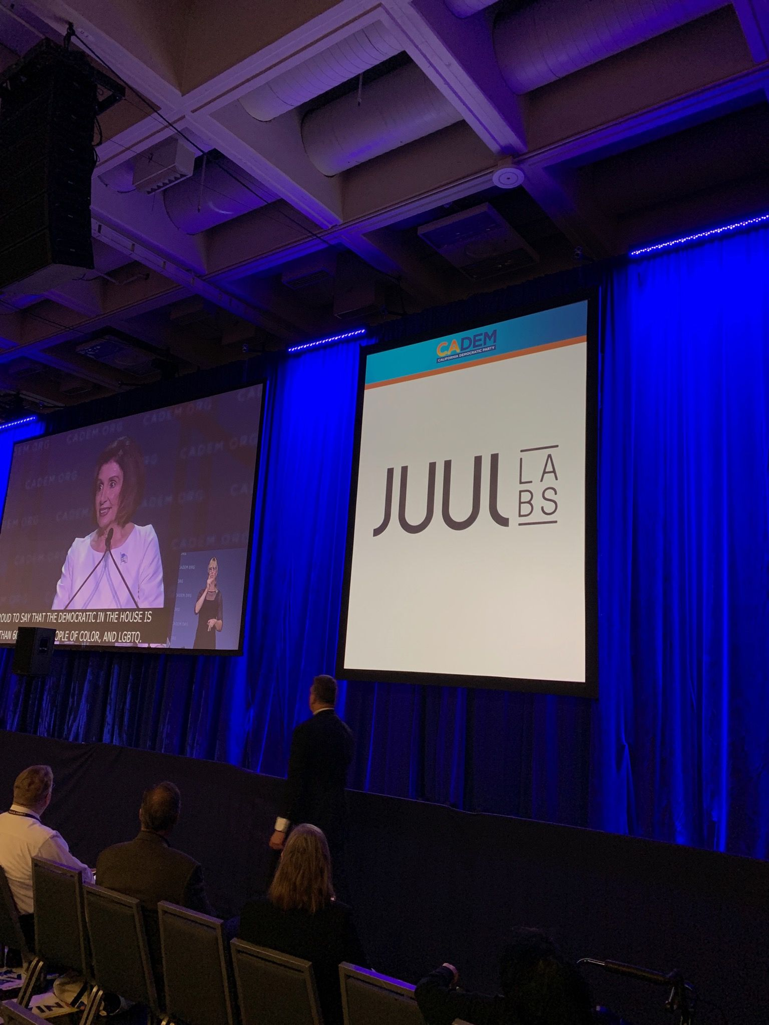 California Democrats under fire after vaping company Juul sponsors convention