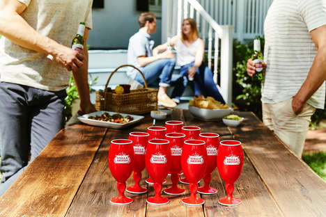 Chalice-Inspired Party Cups : red party cup