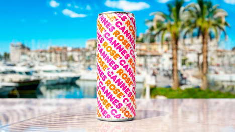Coffee Brand Canned Rosés : can of rose