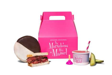 Comedy-Themed Meal Boxes : Themed Meal Box