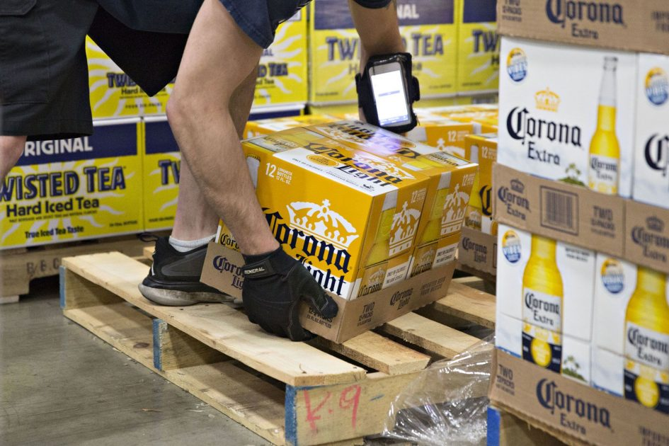 Corona brewer's stock climbs after earnings beat