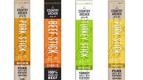Country Archer Jerky Co. Meat Sticks