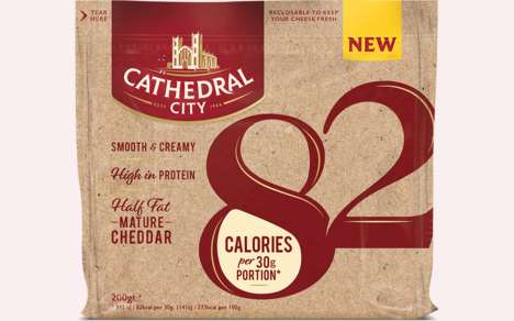 Creamy Low-Calorie Cheeses : Cathedral City 82