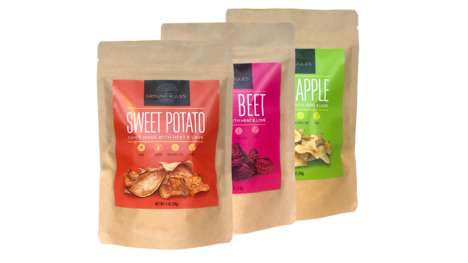 Dehydrated Plant-Based Chips : plant-based chips