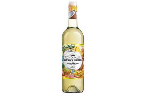 Echo Falls White Wine & Coconut Rum Fusion