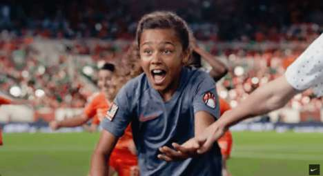 Equality-Promoting Soccer Ads : women's world cup ad