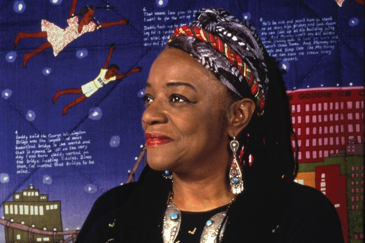 Faith Ringgold discusses civil rights and children's books in solo London show