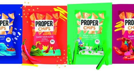 Flavorful Midday Snack Chips : Properchips