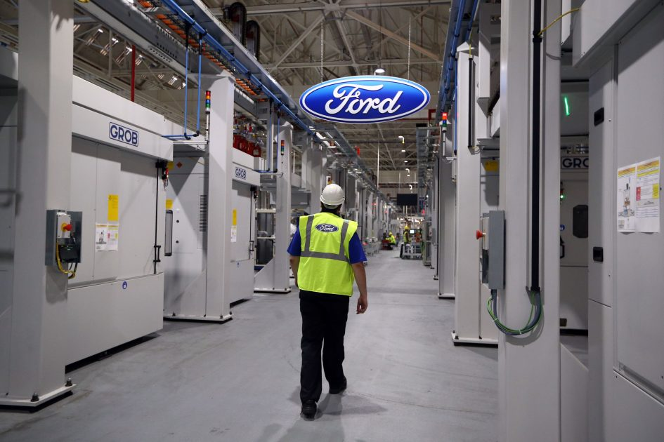 Ford recycles1.2 billion plastic bottles a year for auto parts