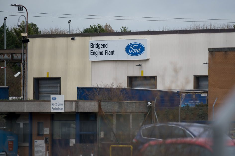 Ford to close Bridgend engine plant in UK
