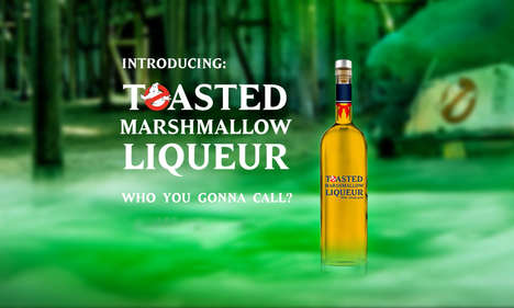 Ghostly Movie Franchise Spirits : Ghostbusters Toasted Marshmallow Liqueur