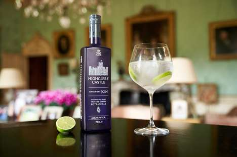 Iconic English Castle Gins : Highclere Castle Gin